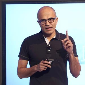 Satya Nadella, CEO of Microsoft