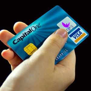 Capital One credit card Credit: © Philip Bramhill/Alamy