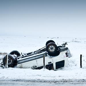 Winter Car Accident © Sam Burt Photography/E+/Getty Images