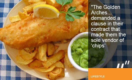 Plate of fish and chips with mushy peas (Image (c) Gary Jones-Flickr-Getty Images)