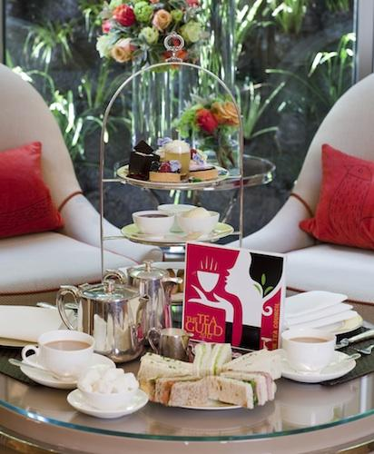 Afternoon Tea at The Athenaeum Hotel