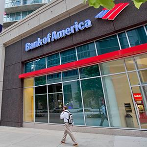 Bank of America branch in Atlanta, Ga. © David Goldman/AP