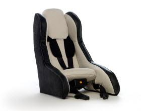 Volvo Inflatable Child Seat Concept. Photo by Volvo.