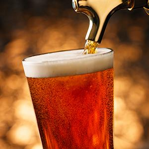 Caption: Beer pouring into a glassCredit: © Jim Scherer/Getty Images
