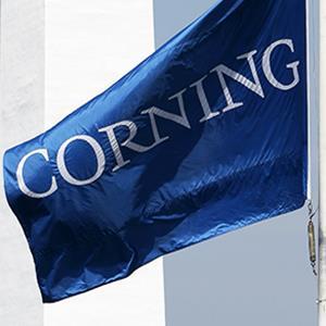 Credit: © David Duprey/APCaption: The Corning Inc. headquarters is shown in Corning, N.Y.