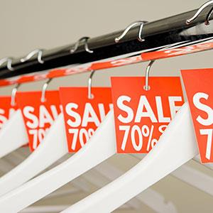 Sale tags © Image Source/Corbis