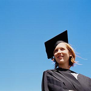College graduate © Alys Tomlinson/Creatas Images/Jupiterimages