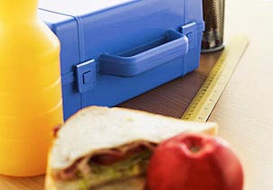 School lunch (© Stockbyte/SuperStock/SuperStock