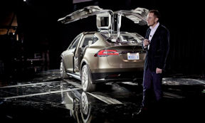 Tesla Model X. Photo by Tesla.