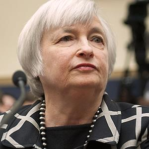 Caption: Federal Reserve Chair Janet Yellen