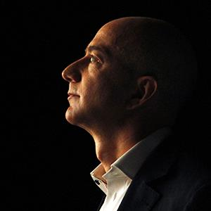Jeff Bezos, chief executive officer of Amazon.com © Patrick Fallon/ZUMA Press/Corbis