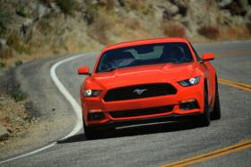 2015 Ford Mustang. Photo by Ford.