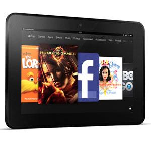 Credit: © Amazon.com, Inc.Caption: Landscape view of the new Kindle Fire HD 8.9