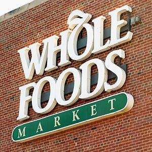File photo of a Whole Foods sign (© Tim Boyle/Getty Images)