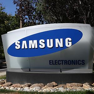 Caption: The Samsung Electronics office in San Jose, Calif.