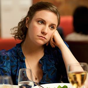 Lena Dunham in a scene from HBO's series 'Girls' © JoJo Whilden/HBO/AP