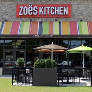 Image: Zoёs Kitchen restaurant in Savannah, Ga. (© Zoёs Kitchen via Facebook, http://tinyurl.com/zoeipo)