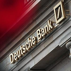 A branch of the Deutsche Bank in Frankfurt/Main, Germany © Daniel Reinhardt/epa/Corbis