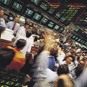 Image: Stock market (© Digital Vision/SuperStock)