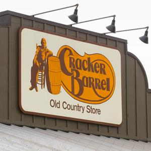 A Cracker Barrel Old Country Store in Naperville, IL (© Tim Boyle/Getty Images)