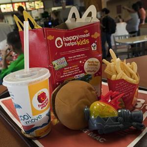 McDonald's Happy Meal (© David Paul Morris/Getty Images)
