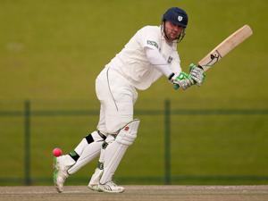 Durham's Ian Blackwell (Gareth Copley-PA Wire)