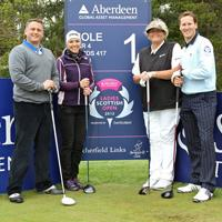 Darren Gough at the Scottish Open