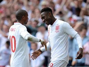 Ashley Young and Danny Welbeck (Owen Humphreys-PA Wire)
