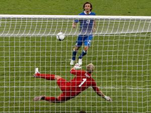 Pirlo's penalty (AP Photo)