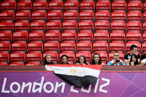 Empty seats at London 2012 - PA