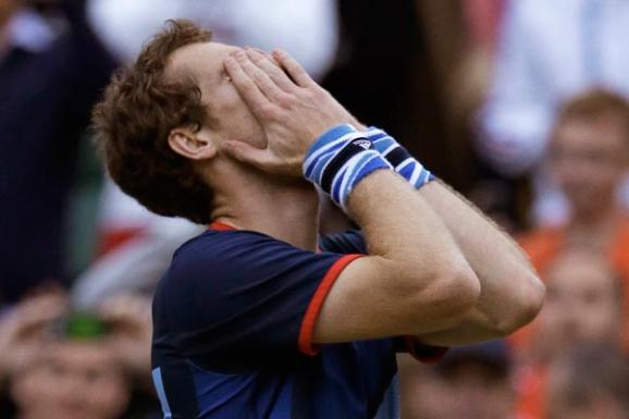 Andy Murray wins gold - PA