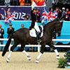 Charlotte Dujardin goes for gold in the individual dressage final