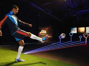 Nani takes the Lethal Zones passing challenge (adidas)