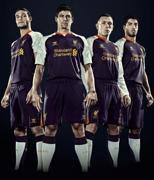 Liverpool third kit - Warrior Sports