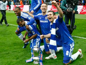 Cole, Terry, Lampard and Sturridge