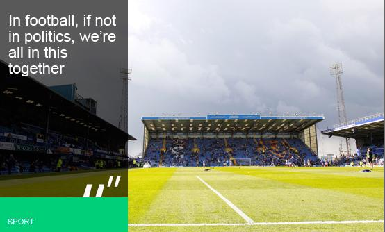 Portsmouth are one of many clubs to have struggled because of high wage bills