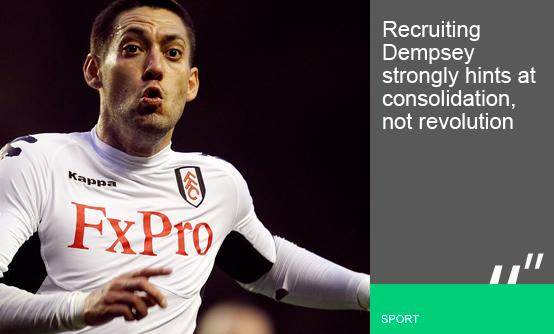 Clint Dempsey (Peter Byrne-PA Archive)