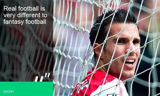 Robin van Persie, Arsenal - PA
