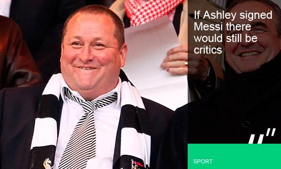 Mike Ashley, Newcastle United - PA