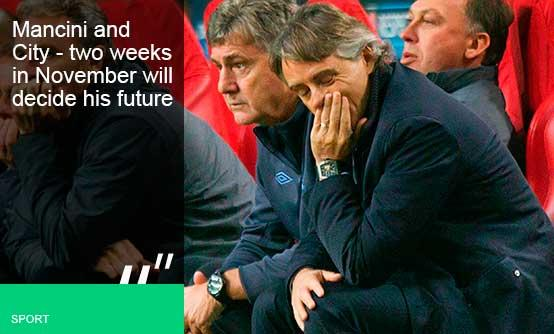 Is Roberto Mancini heading for a Pep talk?