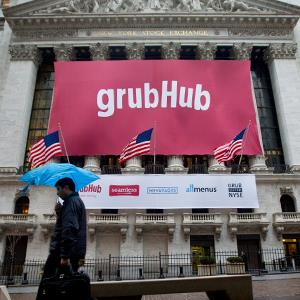 GrubHub Raises $192 Million Pricing IPO Above Marketed Range © Jin Lee/Bloomberg via Getty Images