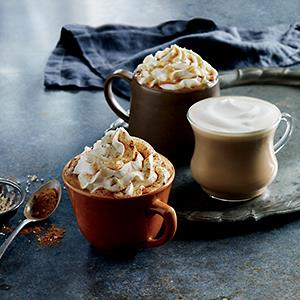 The Starbucks Pumpkin Spice Latte // Courtesy of Starbucks