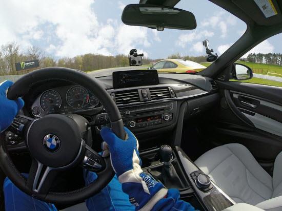 BMW GoPro integration. Photo by BMW.