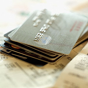 Credit cards © Corbis