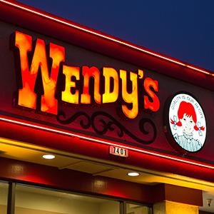 File photo of a Wendy's sign (© David Paul Morris/Bloomberg via Getty Images)