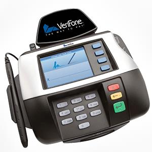 VeriFone Multimedia MX 850 Courtesy of VeriFone