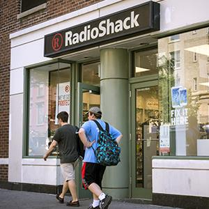 A RadioShack store in Greenwich Village, New York on Aug. 27, 2014 © Richard Levine/Demotix/Corbis