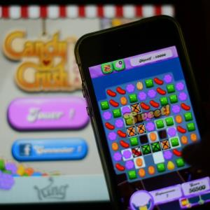 Candy Crush Saga © GABRIEL BOUYS/AFP/Getty Images
