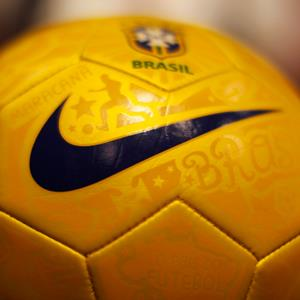 A Nike Soccer ball © Lucy Nicholson/Reuters