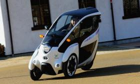 Toyota i-Road. Photo by Toyota.